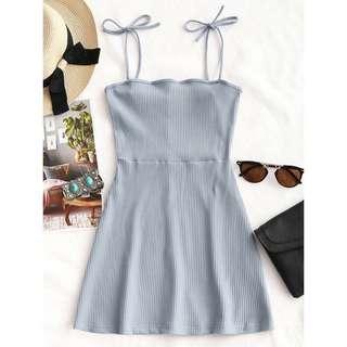 PRE ORDER Ribbed Mini Dress