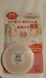 Ettusais BB mineral compact powder spf 25 pa+++  (neutral shade)