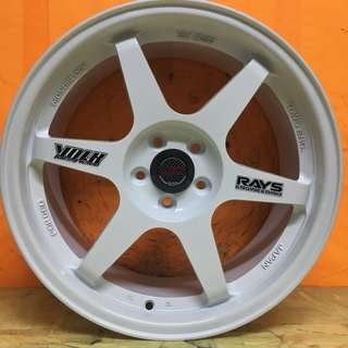 17 inch RIM VOLK TE 37 VW POLO WISH PRIUS LEXUS CT