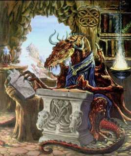 00186 Ancient Dragon Scholar