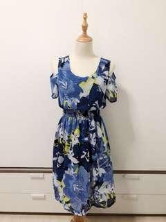Cold Shoulder Short Dress