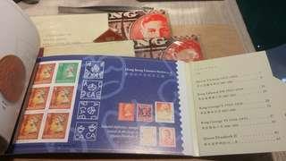 1862年至1992年香港通用郵票一覽 一本$100三本$280