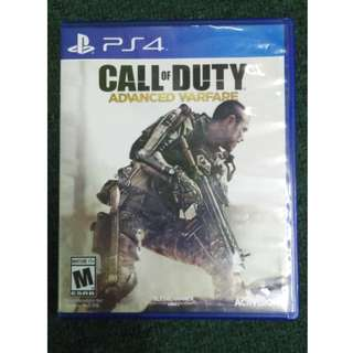 PS4 Call Of Duty Advanced Warfare Rall R1(used)