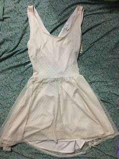 F21 Nude Dress