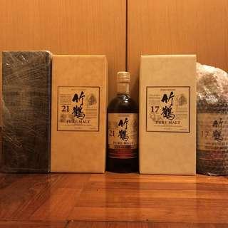 竹鶴 Taketsuru Set x 5