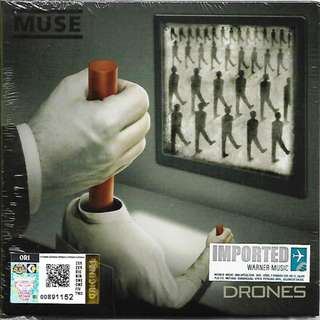MUSE Drones Imported CD Digipack