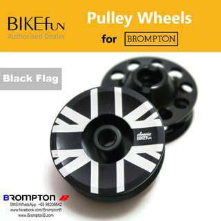 BIKEfun Pulley Wheels (for 2/6-speed Bromptons)