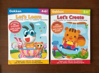 Gakken Books 2-3 Years 4-6 Years