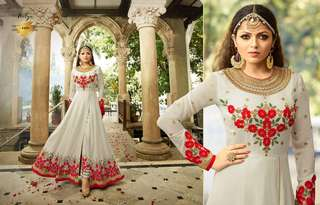 Designer Gowns Nitya with Embroidery