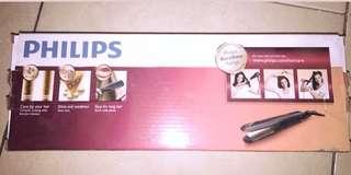 Philips Kerashine Straightener HP8316 Pelurus Rambut / Catokan Rambut - Hitam
