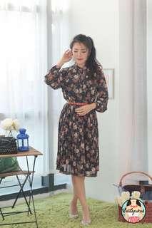 🍿 Vintage Midi Dress VD1295
