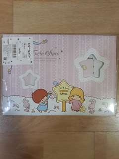 Little Twin Stars letter set 4