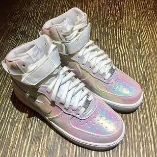 🚚 (全新)NIKE Air Force HI 彩虹