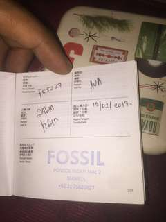 FOR SALE FOSSIL (FS5237) #nego