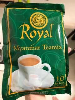 緬甸空運到港😍好值得一試❤️最出名奶茶5蚊一小包20g😍🇲🇲