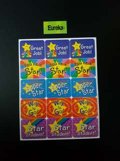 [INSTOCK] BN Stars Success Reward/Merit Stickers (Eureka School)