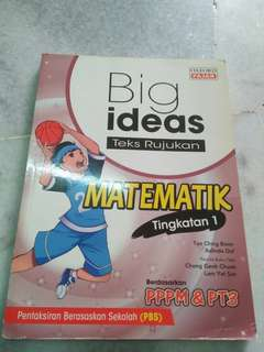 Form 1 OXFORD BIG IDEAS MATEMATIK