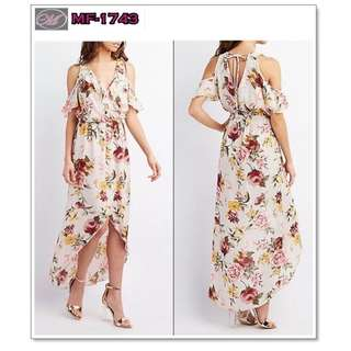 CODE: MF-1743 Floral Maxi Dress