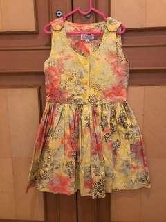 Dress batik legong sz M