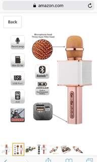 Bluetooth Microphone Karaoke (Brand New)