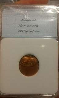 1985年美國錢幣 錯體