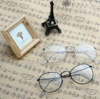 Round Metal Frame Glasses