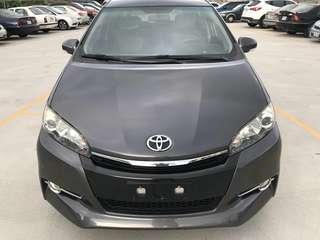 Toyota 10年E-Hi版 WISH