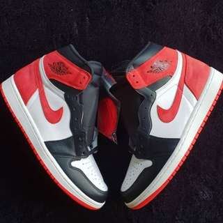 AIR JORDAN 1 RETRO SIX RINGS TRACK RED