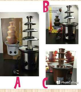 🍫CHOCOLATE FOUNTAIN⛲