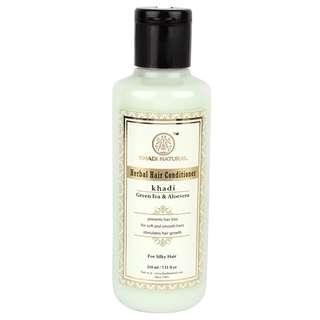 KHADI NATURAL Herbal Greentea & Aloevera Hair Conditioner