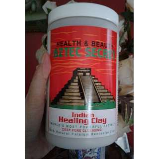 Aztec Indian Healing Clay Calcium Bentonite 2lb.