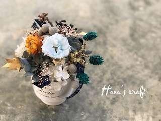 Pot Flower (Preserved Flower & Dried Flower)