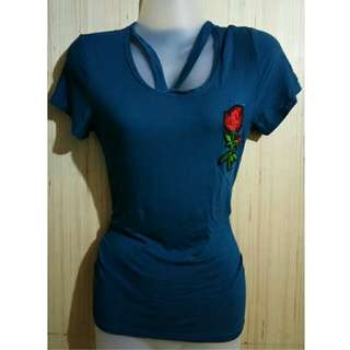 Bluegreen with patch top
