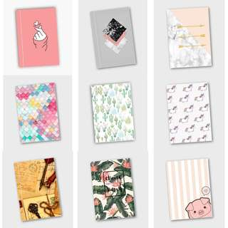 CUTE NOTEBOOKS! 3 for P299