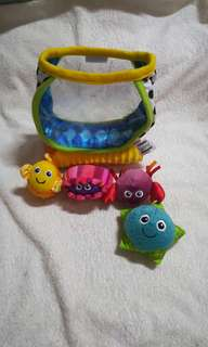 Lamaze My First Fishbowl Baby Toy