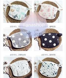👶🏻韓國有機純棉胸前巾