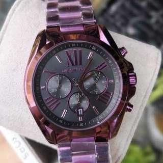 MK SET PAWNABLE WATCH (violet)