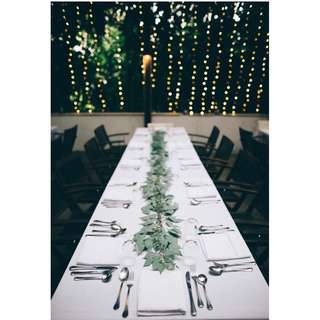 Wedding overall Venue Decoration at Da Paolo Bistro Bar