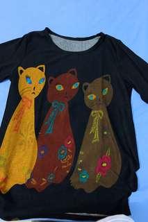 Black Cat Sweater