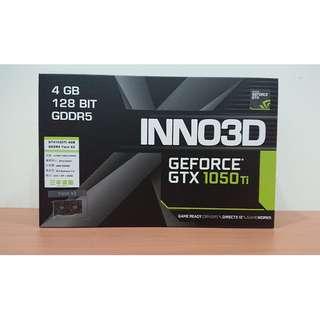 【限時特價】【全新未拆封】高CP值映眾 INNO3D GTX 1050TI 4GB GDDR5 TWIN X2 顯示卡雙風扇 三年保固