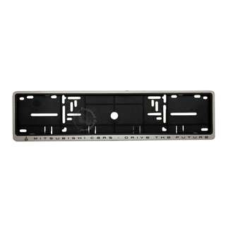 MITSUBISHI FRONT NUMBER PLATE CASING (SILVER)