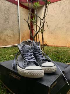 Converse CT Hi Overwashed Grey