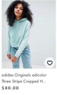 Originals cropped hoodie RRP80
