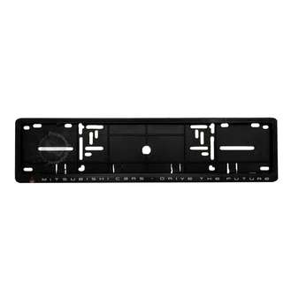 MITSUBISHI FRONT NUMBER PLATE CASING (BLACK)