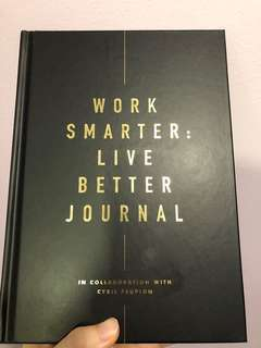Kikki.K: Work Smarter Live Better Journal by Cyril Peupion