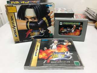 SATURN THE KING OF FIGHTERS 95