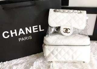 Chanel Transparent Backpack