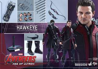 Hot Toys Hawkeye Avengers Age of Ultron