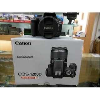 Cicil Canon 1200D Gratis 1X Angsuran Tanpa Kartu Kredit