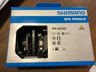 Shimano SPD bicycle pedals brand New PD-A530